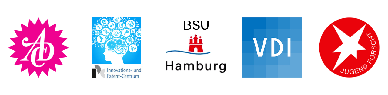 Innovations und Patentcentrum Art directors club BSU Hamburg Verein deutscher Ingenieure Jugend Forscht